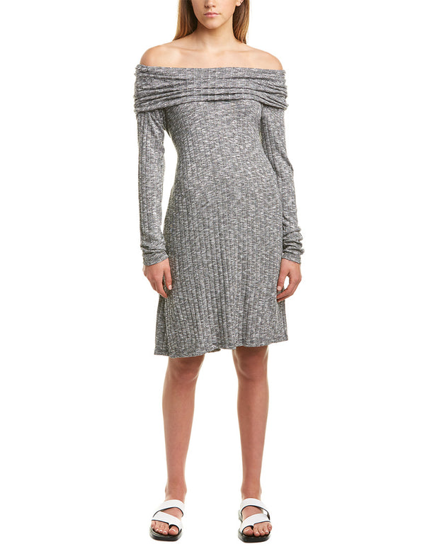 Michael Stars Cowl Neck A-Line Dress