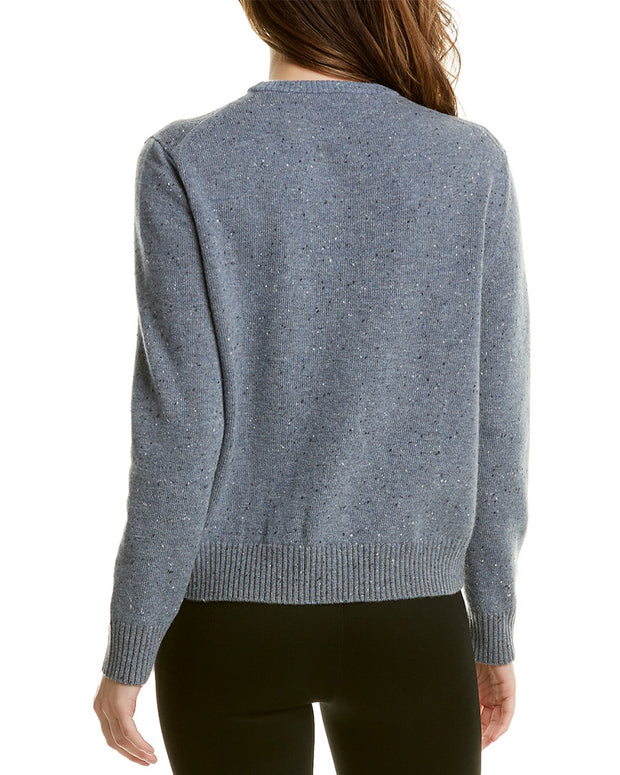 Lafayette 148 New York Vanise Wool & Cashmere-Blend Sweater