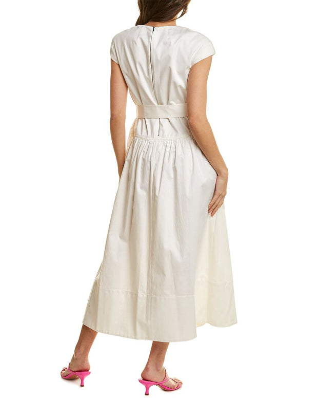 Tibi Calla Lily Midi Dress