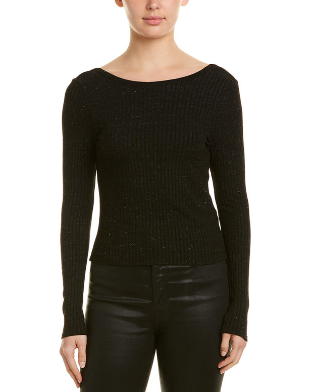 David Lerner Low Back Crop Top