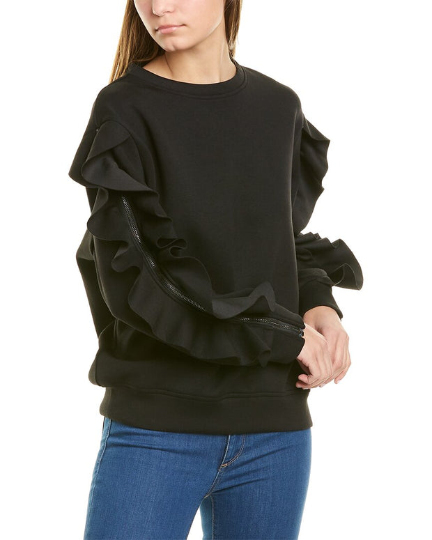 Gracia Ruffled Top
