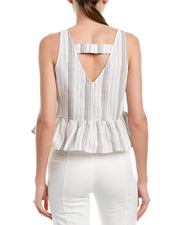 Lumiere Peplum Top