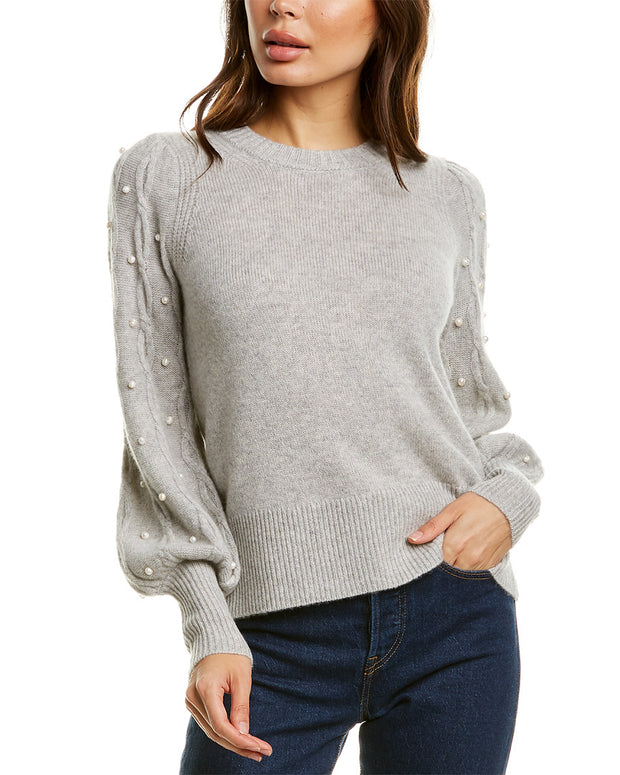 Product Template Dnu Design History Pearl Bead Cashmere Sweater