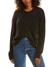 James Perse Loose Stitch Wool & Cashmere-Blend Sweater