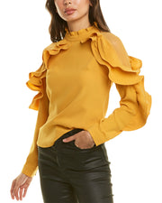 Why Dress Ruffle Blouse