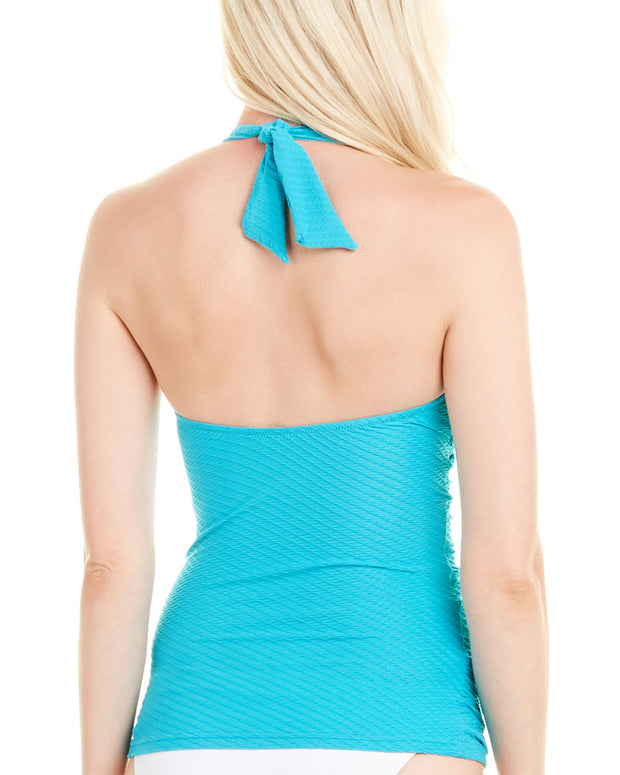 Profile By Gottex Ribbons-Spring Tankini Top
