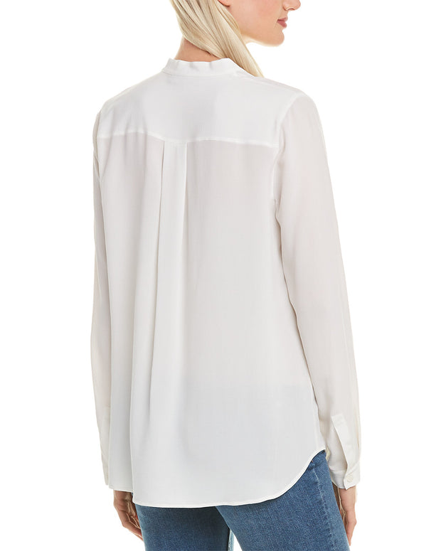 Lafayette 148 New York Russell Blouse
