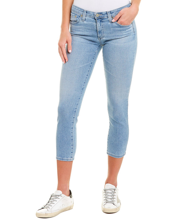 Ag Jeans The Prima 20 Years Ocean Cigarette Crop