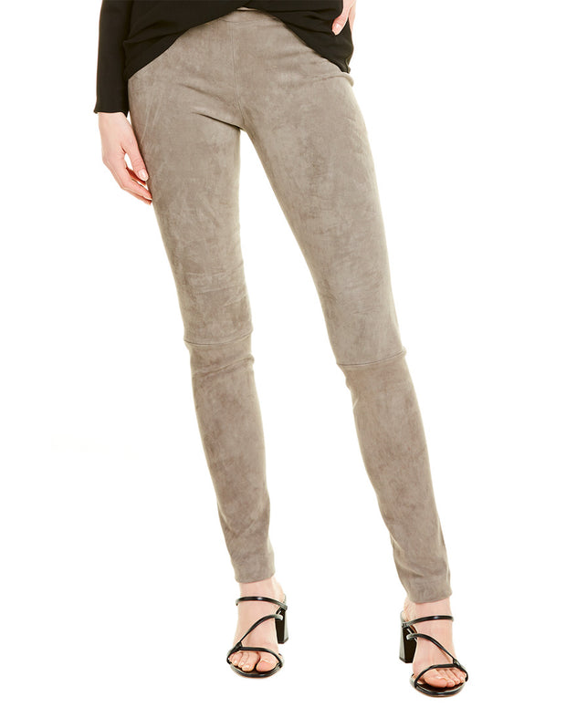 The Row Moto Leather Pant