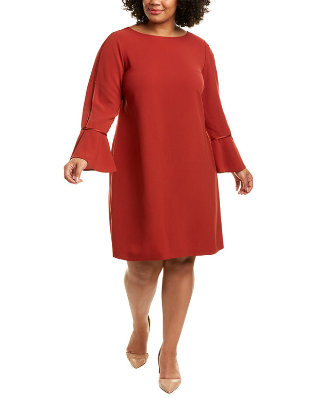 Lafayette 148 New York Plus Jorie Shift Dress