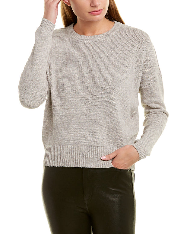 James Perse Dropped-Shoulder Sweater