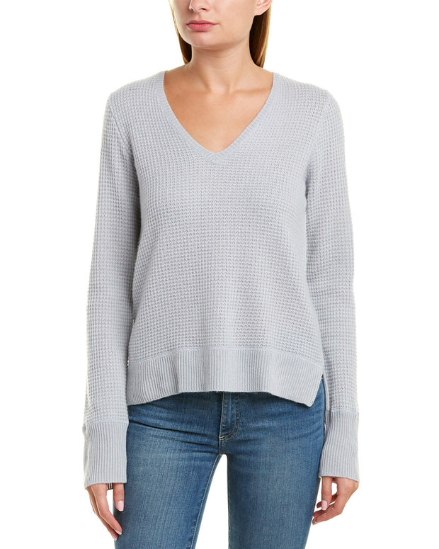 James Perse Thermal Cashmere Sweater