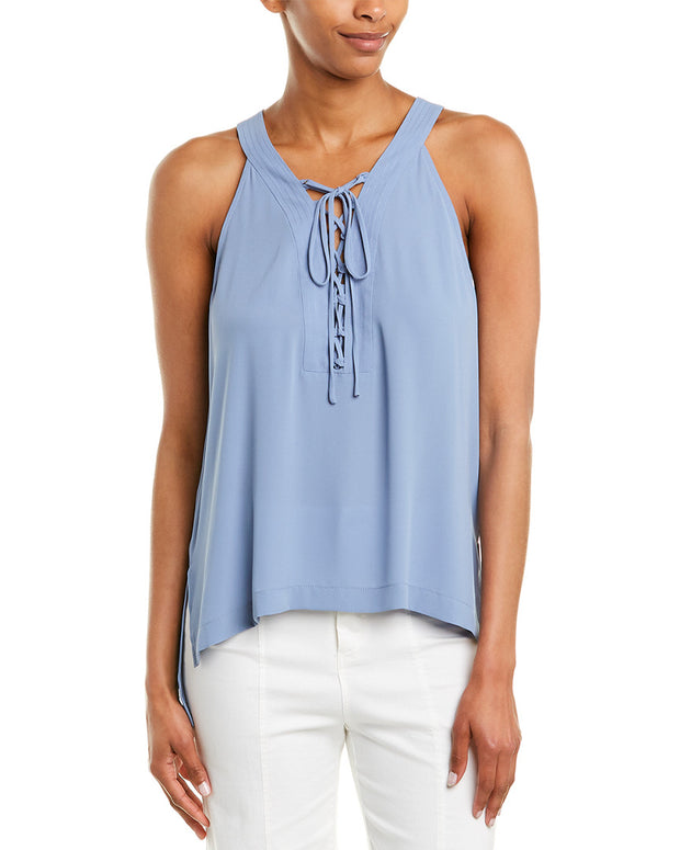 Bcbgmaxazria Lace-Up Top