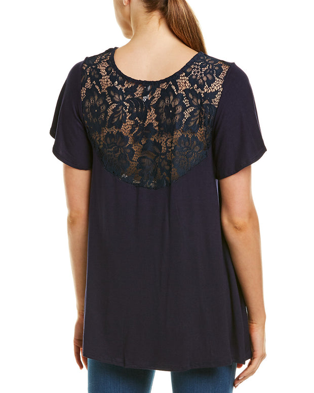 Magic Fit Lace Back Top
