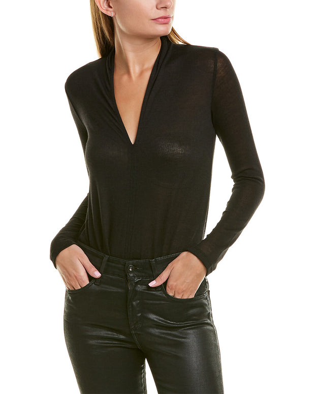 David Lerner V-Neck Bodysuit