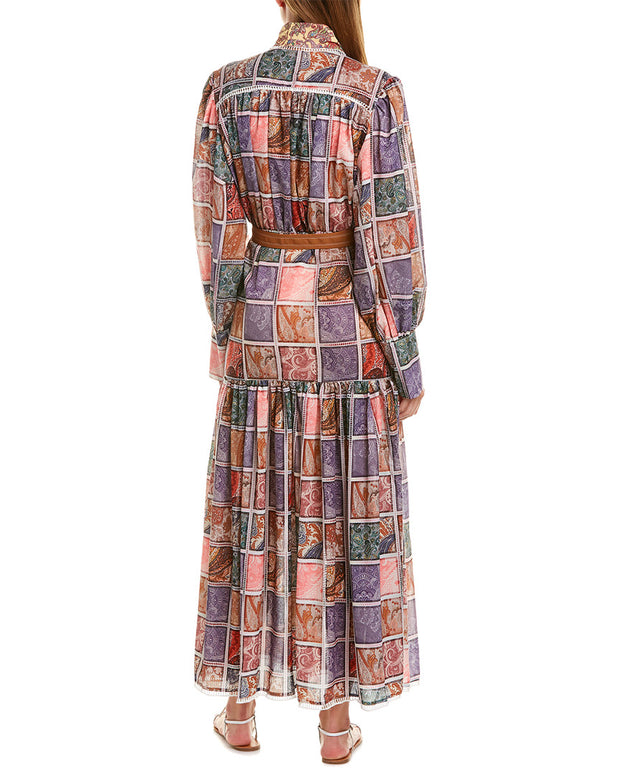 Beulah Belted Midi Dress