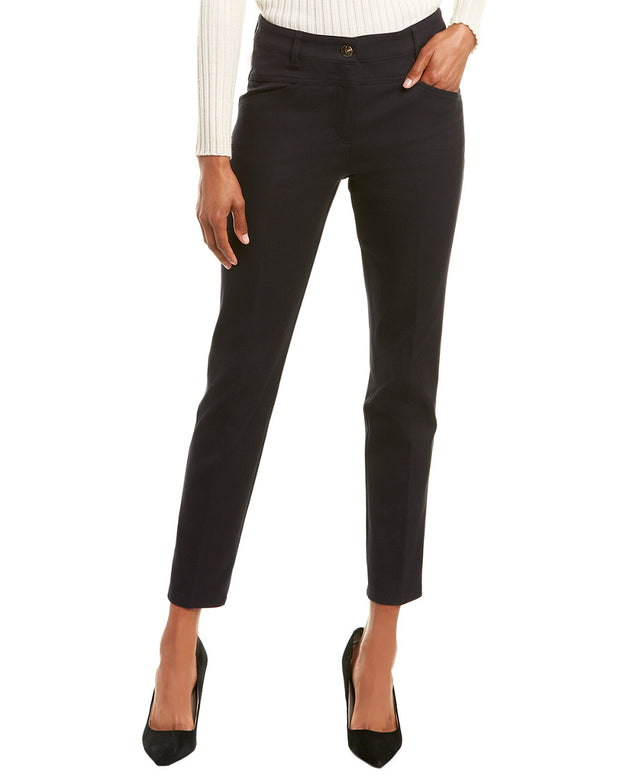 Escada Teresa Navy Straight Leg
