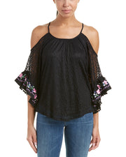 Voom By Joy Han Kinsley Open Shoulder Top