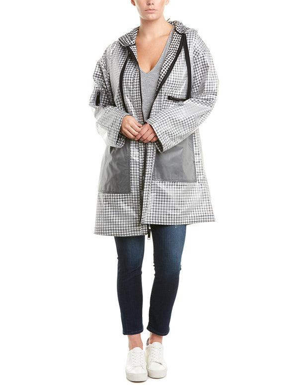 Rachel Rachel Roy Plus Long Raincoat