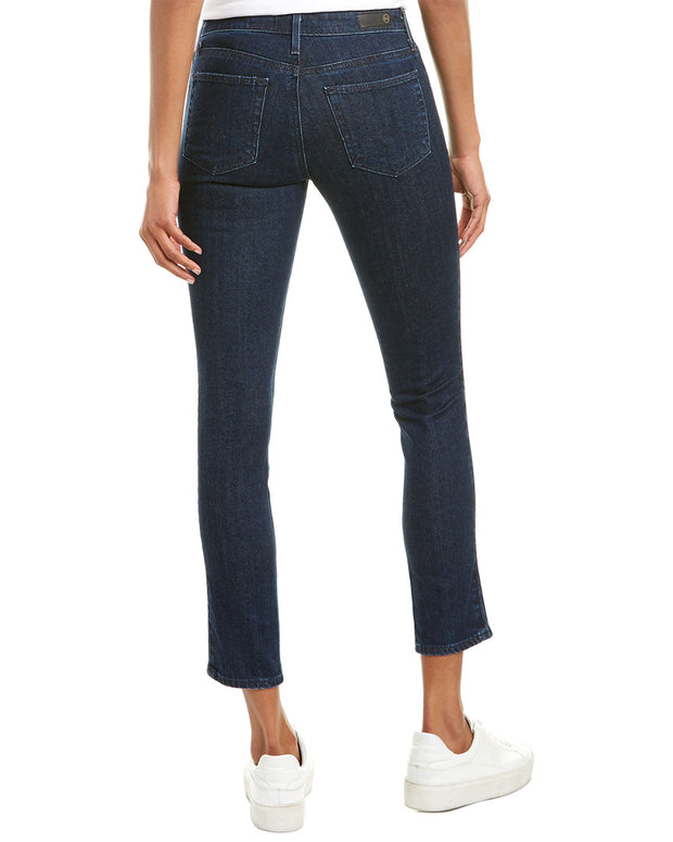 Ag Jeans The Prima Indigo Pursuit Cigarette Crop