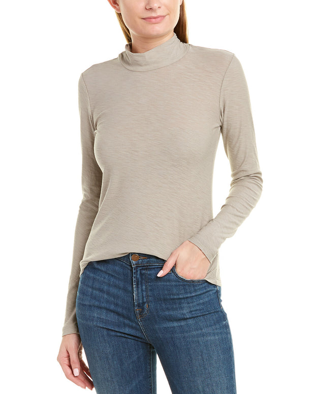 James Perse Twisted Turtleneck