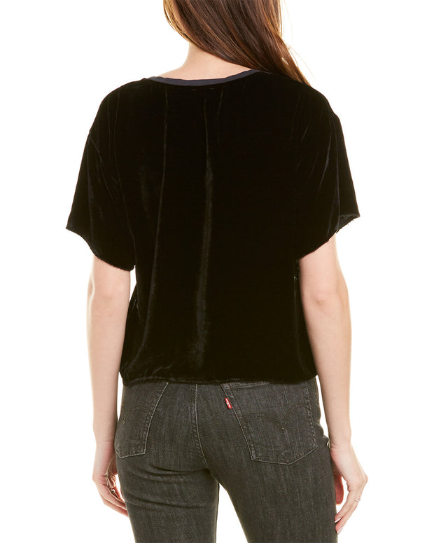 Nation Ltd Ellis Silk-Blend Top