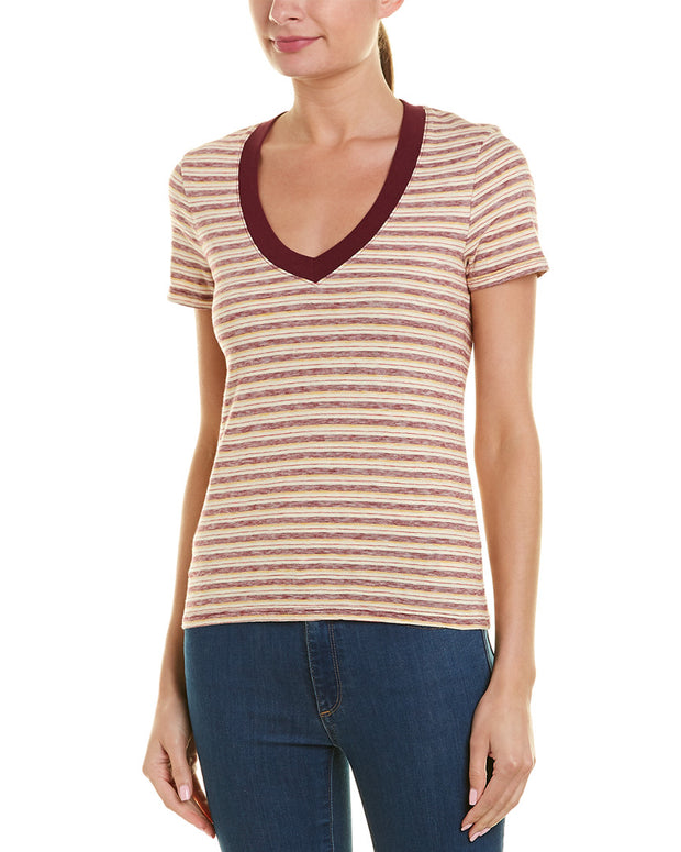 James Perse Striped T-Shirt