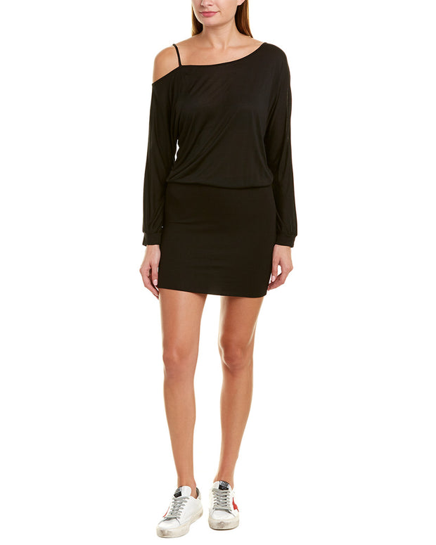 Lanston Off-The-Shoulder Mini Dress