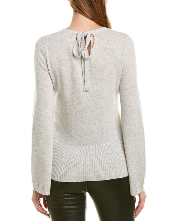 Qi Scoop Neck Cashmere Sweater