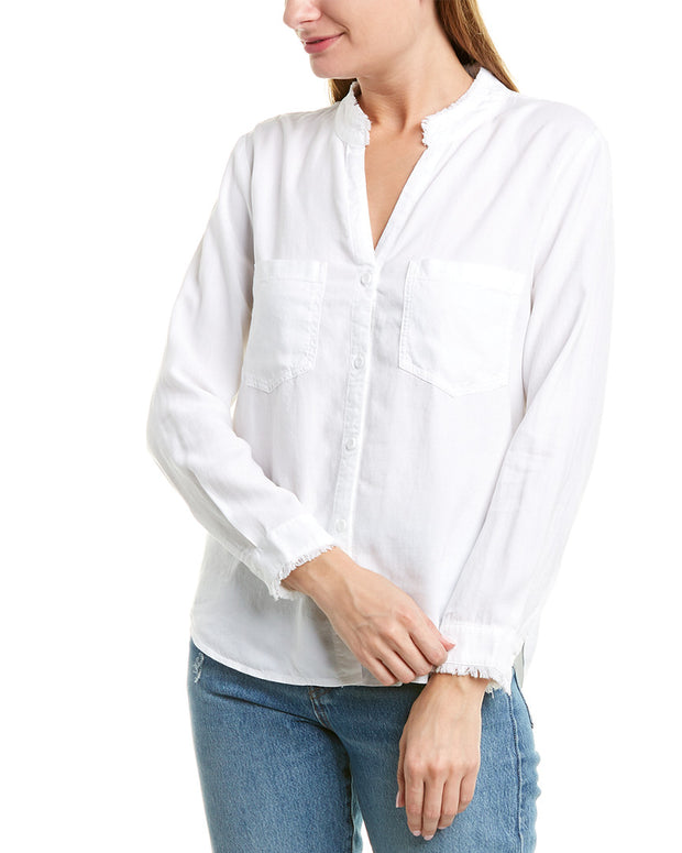 Bella Dahl Two-Pocket Button-Down