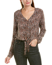 Bella Dahl Tie-Up Blouse