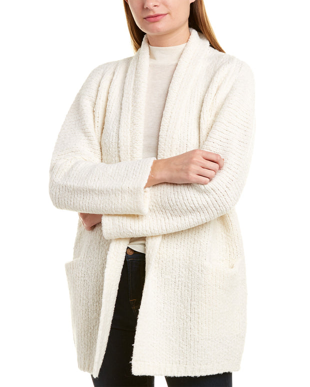Vince Textured Wool Cardigan