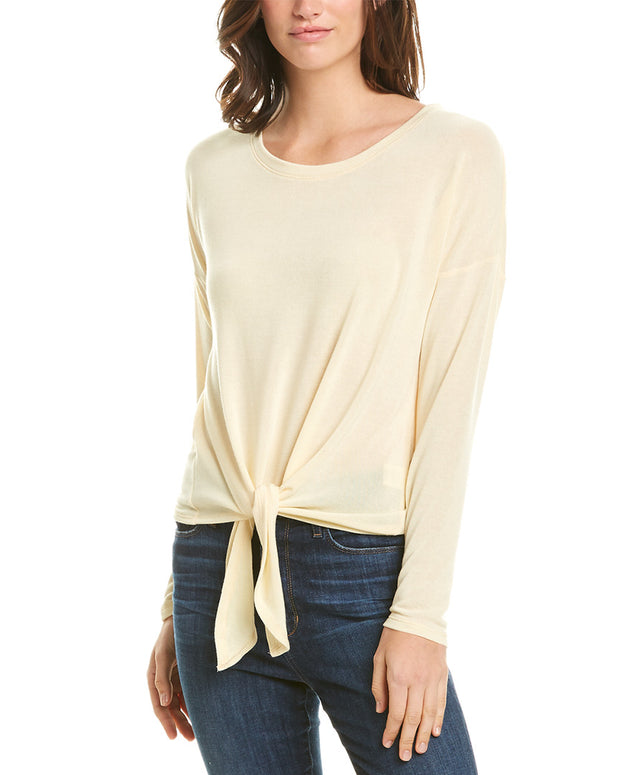 Matty M Knit Drop Shoulder Top