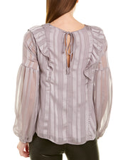 Lush Bishop Sleeve Blouse