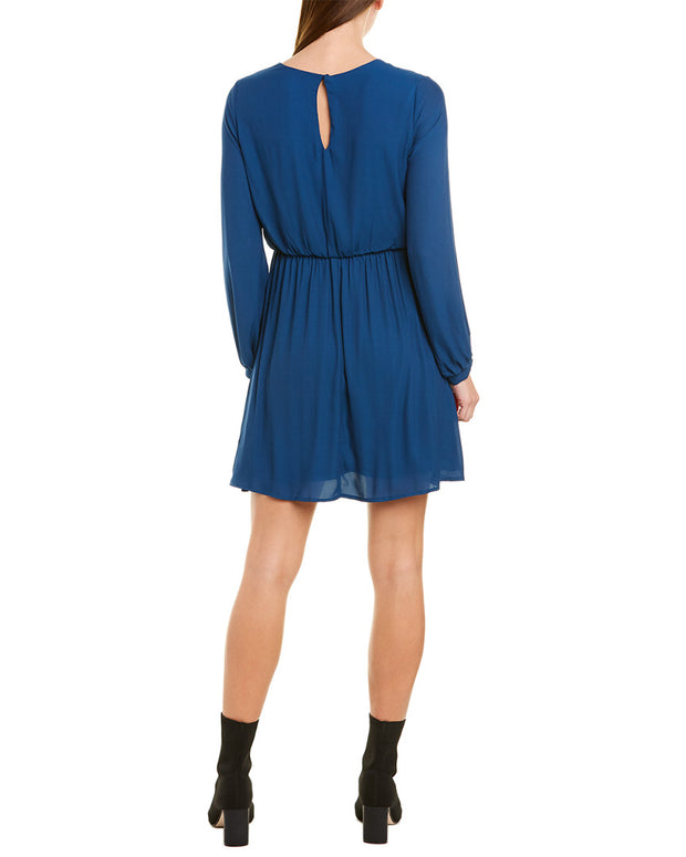Lush Surplice A-Line Dress