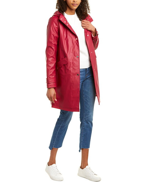 Kate Spade New York Long Raincoat