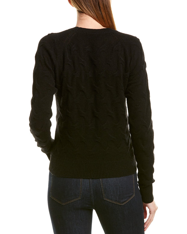 Theory Embossed Cashmere Sweater