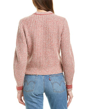 Rag & Bone Cheryl Wool-Blend Top