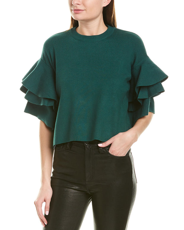 Aiden Ruffle Sleeve Blouse