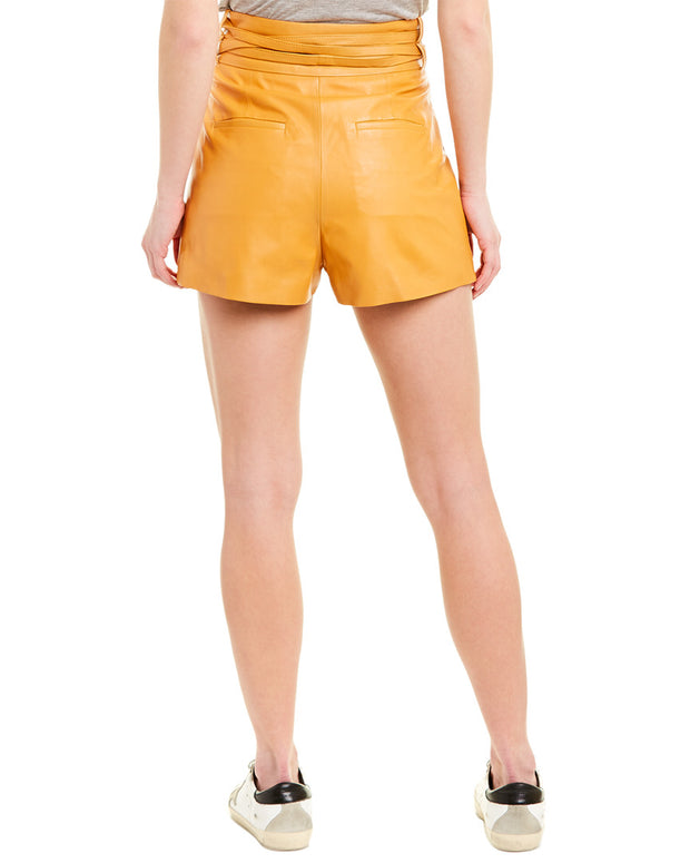 Iro Tenacity Leather Short