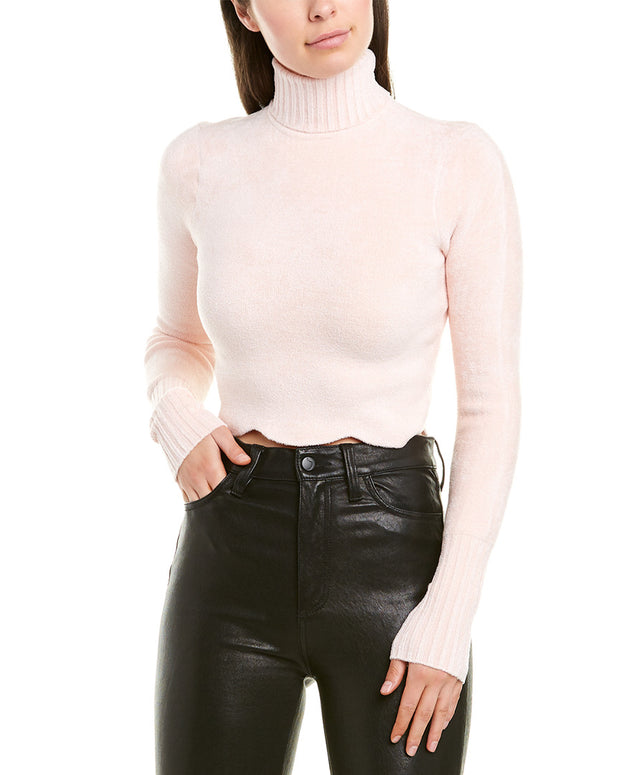 Ronny Kobo Zemirah Mock Neck Knit Top