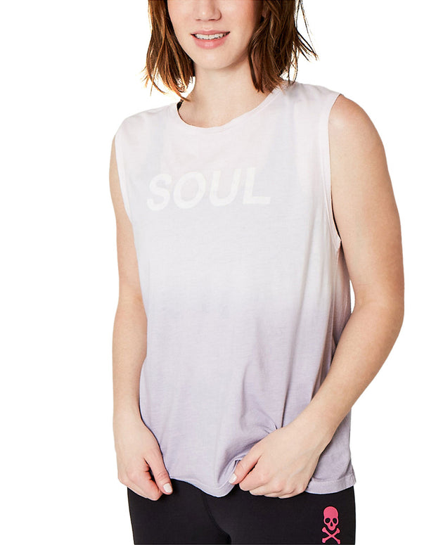 Soul By Soulcycle X Sundry Ombre Muscle Tank Top