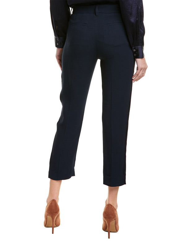 Derek Lam 10 Crosby Tapered Wool-Blend Pant