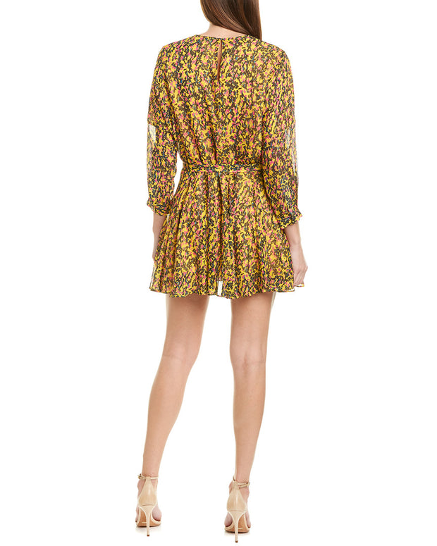 Derek Lam 10 Crosby Godet Mini Dress