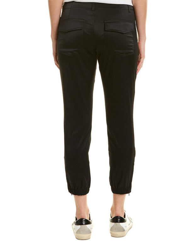 David Lerner Ankle Zip Trouser
