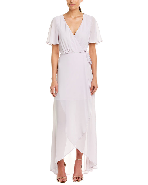 Show Me Your Mumu Sophia Wrap Maxi Dress