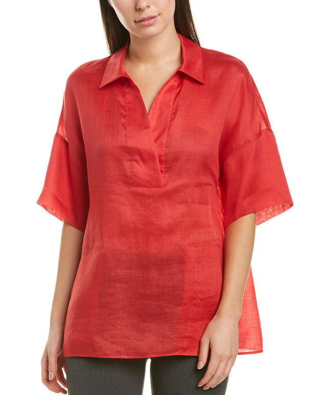 Lafayette 148 New York Mitra Blouse