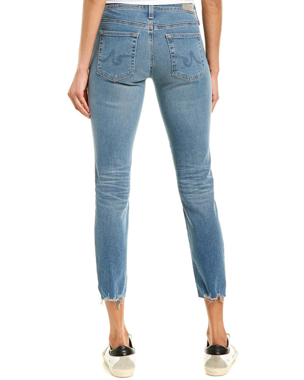 Ag Jeans The Prima 23 Years Limelight Cigarette Crop