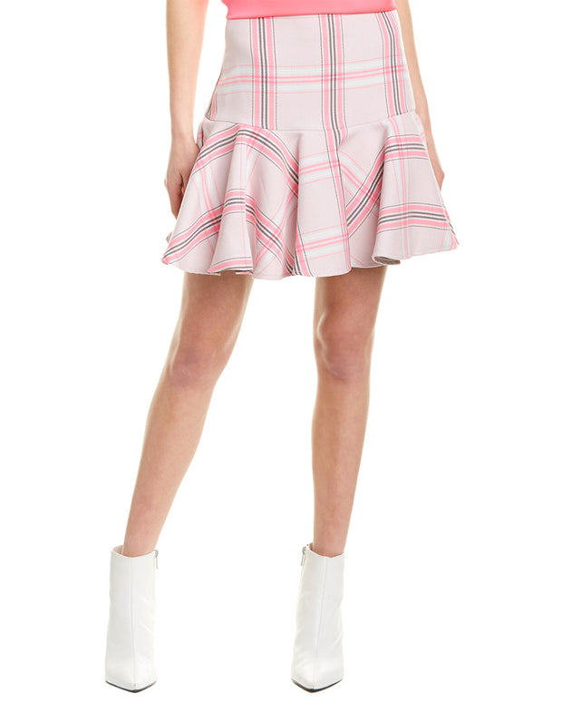 Milly Flounce Mini Skirt