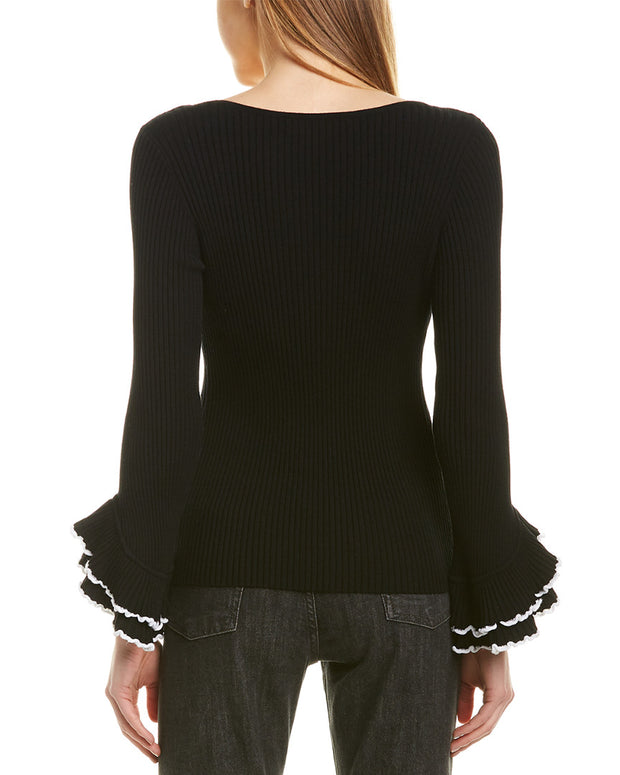 Milly Ruffle Sweater